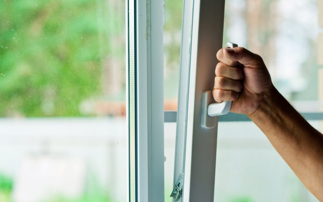 signs of problems with your home including windows that get stuck